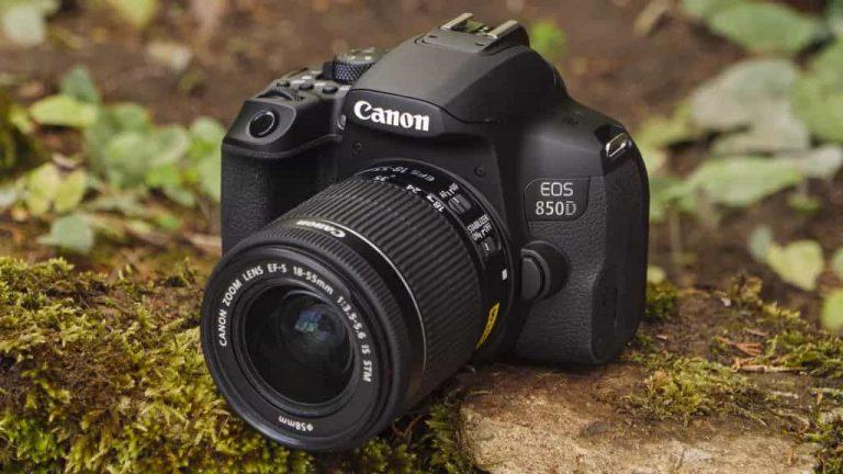 appareil photo numerique reflex Canon EOS 850D