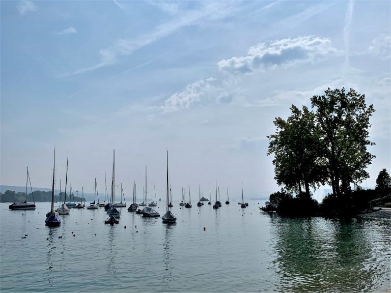 Lac de Zurich comment prendre une belle photo