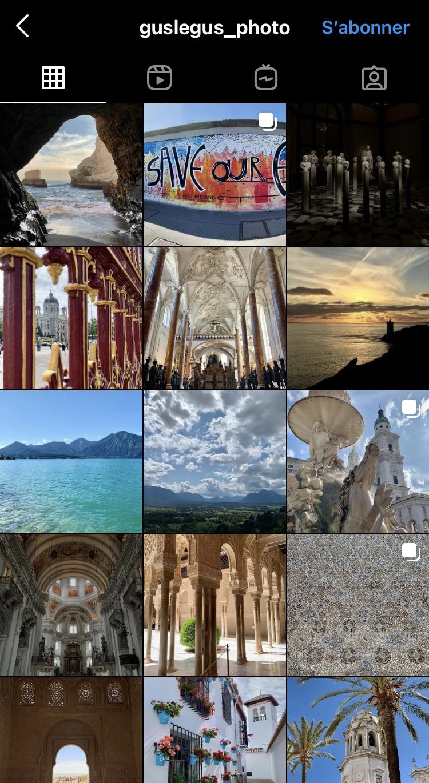galerie Instagram photos prises avec iPhone XR