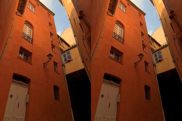 c'est quoi l'HDR ruelles de Grasse photo classique et HDR