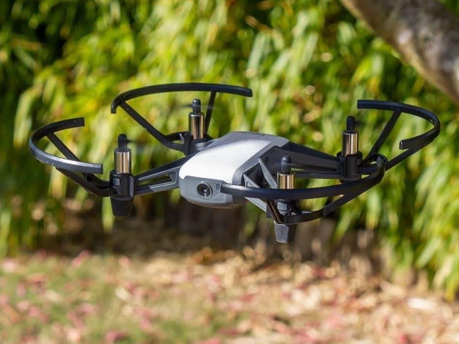 image du drone DJI Ryze Tello en vol
