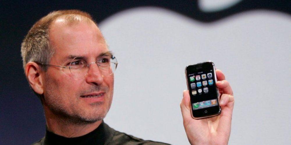 Steve Jobs et le premier iPhone smartphones meilleurs que appareils photo